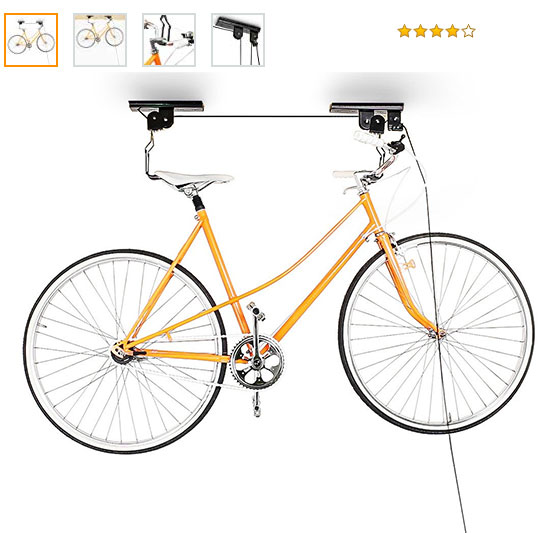 soporte bici para techo de regalo #regalosoriginales #regalosparaciclistas