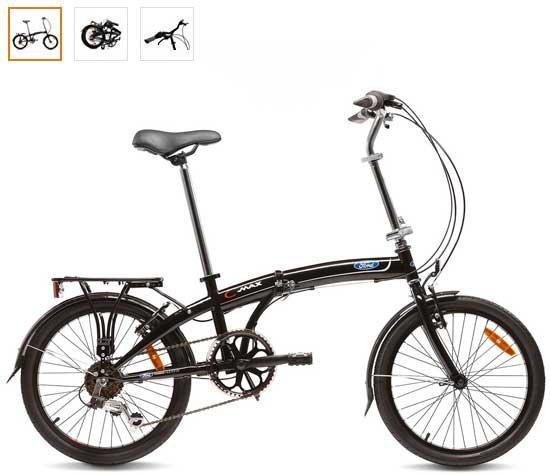 mejor bicicleta plegable ford c max