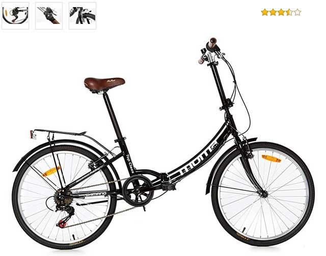 Bicicleta moma plegable top class de24''