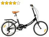 opiniones bicicleta plegable moma first class