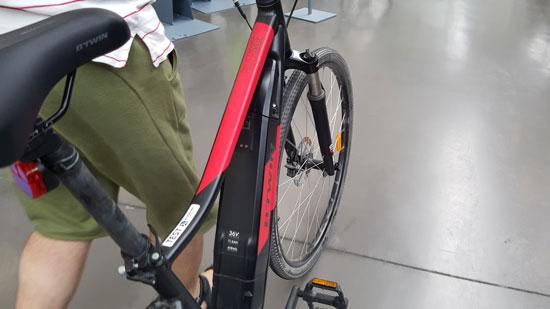 bicicleta electrica decathlon #riverside #bicicletas #bicicletadetrekking